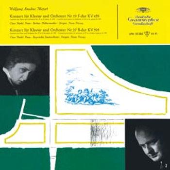 Clara Haskil - Mozart Concertos Nos. 19 & 27 - 180g