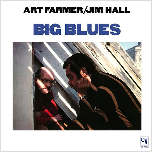Art Farmer & Jim Hall Big Blues 180g
