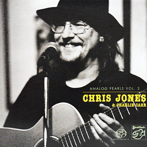 Chris Jones & Charlie Carr Analog Pearls Vol. 3 Hybrid Stereo SACD