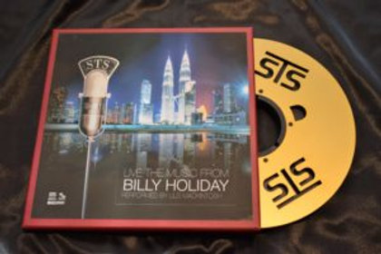 Lils Mackintosh   –  Live the Music from Billy Holiday
