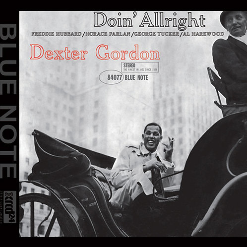 Dexter Gordon - Doin' Allright - XRCD24