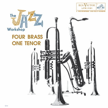 Al Cohn The Jazz Workshop - Four Brass, One Tenor - 180g