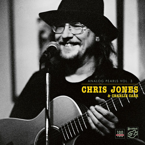 Chris Jones & Charlie Carr - Analog Pearls Vol. 3 180g LP