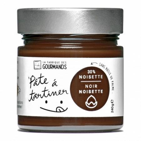Pâte à Tartiner Noir Noisette pot de 240g
