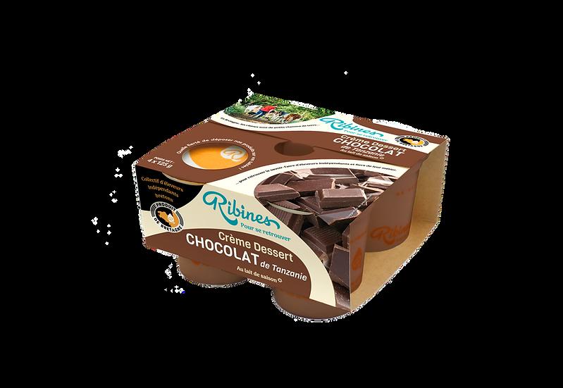 Crème dessert Ribines 4*125g