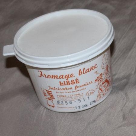 Fromage blanc lissé 3.5% de MG