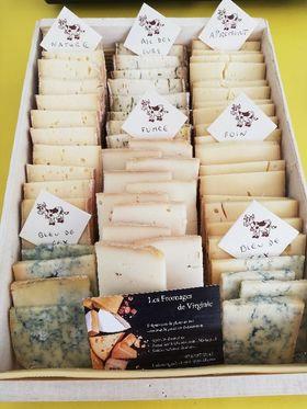 fromage à raclette mixte vendu à la part 200g