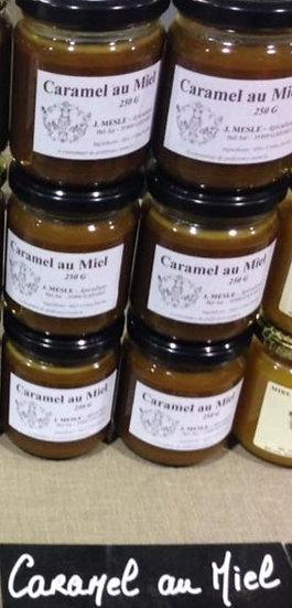 Caramel au miel en pot de 250 g