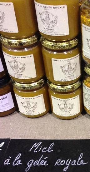 Miel à la gelée royale en pot de 250 g