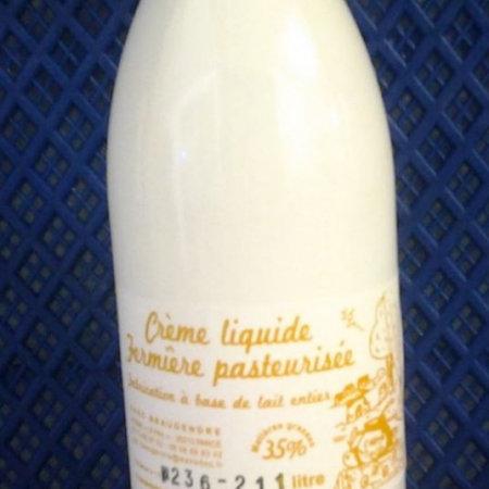 Crème Liquide Fermière 35 % de MG