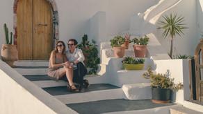 Sophie & Wyn - Santorini Engagement Shoot