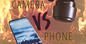 My Camera Vs My Phone