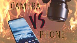 My Camera Vs My Phone