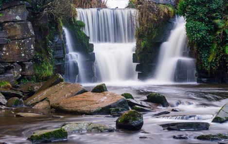 Rocky Penllergaer Falls