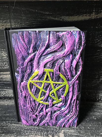 Purple Pentagram Sketchbook