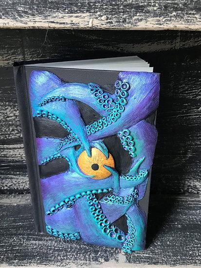 Light Blue Tentacle Sketchbook