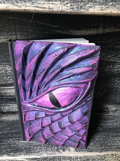 Pink Dragon Eye Sketchbook