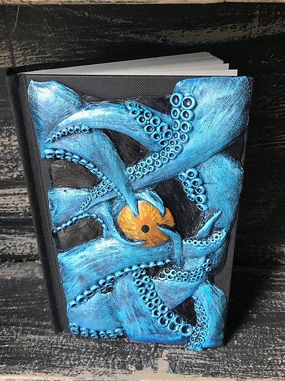 Blue Tentacle Sketchbook