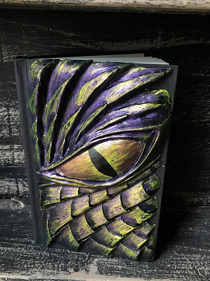 Green Dragon Eye Sketchbook