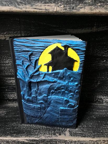 Blue Graveyard Sketchbook