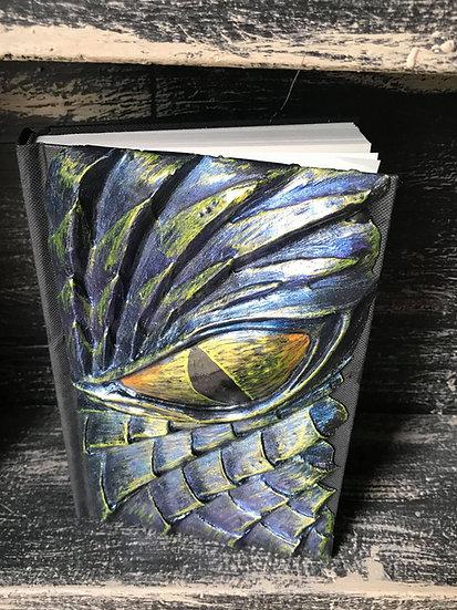 Blue Dragon Eye Sketchbook