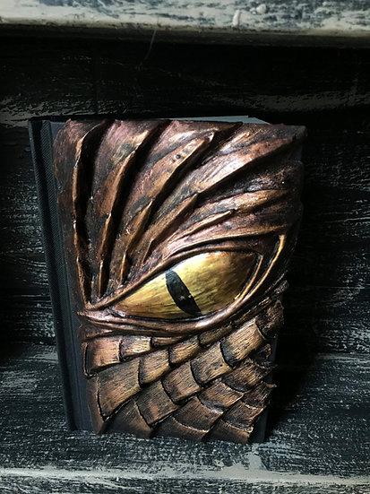 Bronze Dragon Eye Sketchbook