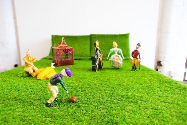 Maryanne Royle 'Plastic Grass'