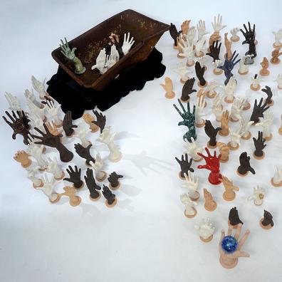 Helen Birnbaum Ceramics 'Terra Firma Leaky Boat'