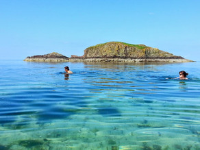 Choosing a GOOD swimming spot at the seaside!