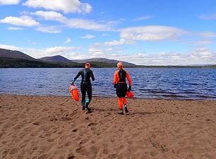 Speyside Swimmers - Loch Morlich Sailing