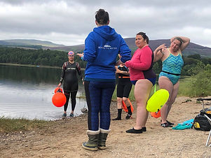 Open Water Coaching Qualifications based near Aviemore with locations around the UK