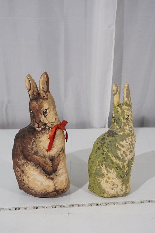 1890s Arnold Print Works - Stuffed Cloth Rabbit