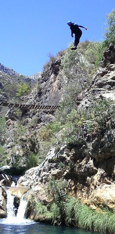 Descenso de barrancos en Río Verde