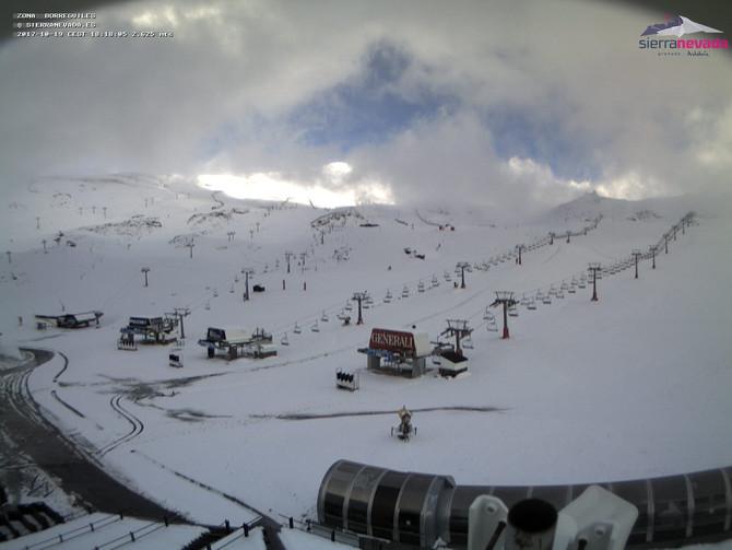 ¡¡¡Ya llegó la nieve a Sierra Nevada!!!