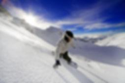 Snowboard en Sierra Nevada