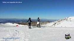 Rutas con raquetas de nieve