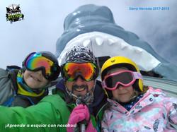 Clases de esquí con el profe Manolo