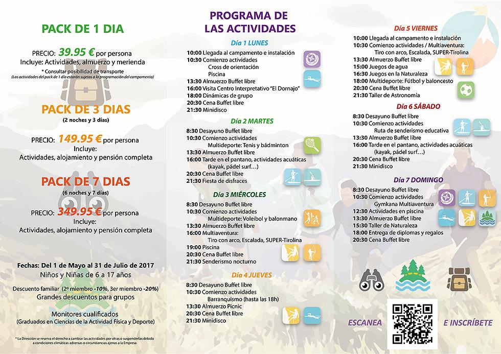 PROGRAMA DE ACTIVIDADES