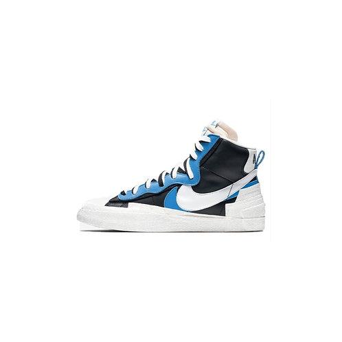Nike Blazer Mid sacai White Black Legend Blue BV0072-001