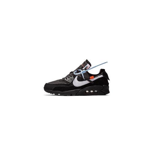 Off White × Nike Air Max 90 Black AA7293-001
