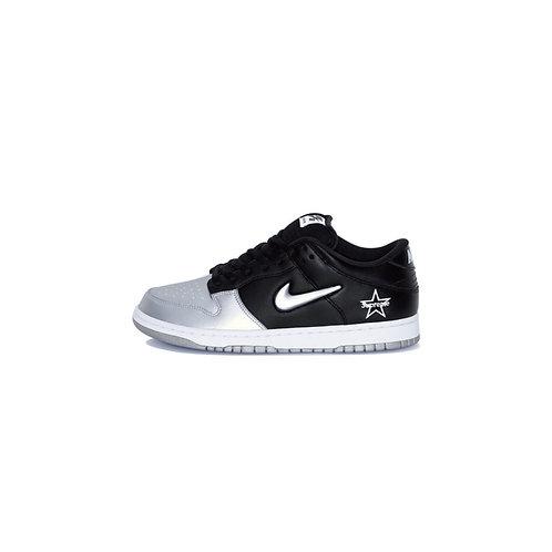 Nike SB Dunk Low Supreme Jewel Swoosh Silver CK3480-001