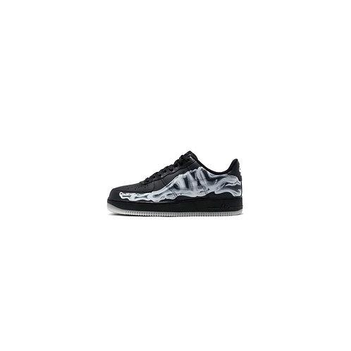 Nike Air Force 1 Skeleton Black On Black BQ7541-001