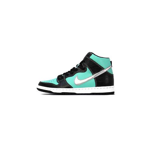 "Nike SB Dunk High Diamond Supply Co. ""Tiffany""   653599-400"