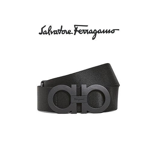 Salvatore Ferragamo Adjustable Nylon Belt
