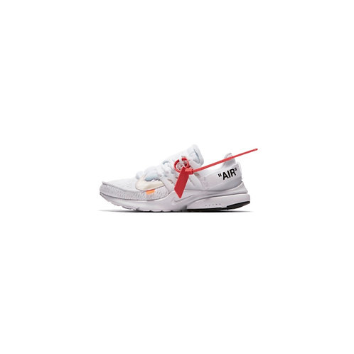 OFF-WHITE × NIKE AIR PRESTO WHITE/BLACK-CONE  AA3830-100
