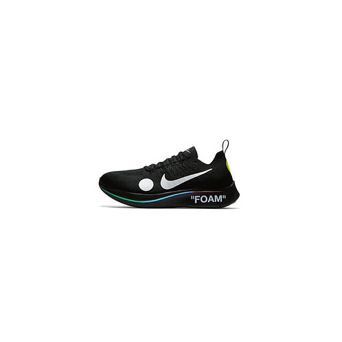 NIKE ZOOM FLY MERCURIAL FLYKNIT ×OFF-WHITE BLACK AO2115-001
