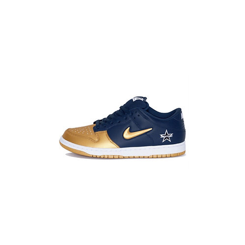 Nike SB Dunk Low Supreme Jewel Swoosh Gold CK3480-700