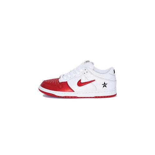 Nike SB Dunk Low Supreme Jewel Swoosh Red CK3480-600