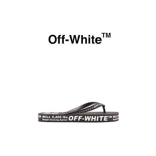 OFF-WHITE ロゴ ビーチサンダル