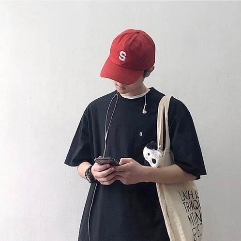 【全4色】カジュアルポケットTシャツ ZY2019050506-XZ